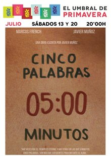 Event cartel cinco minutos