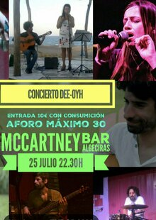 DEE-OYH en Algeciras - McCartney Bar