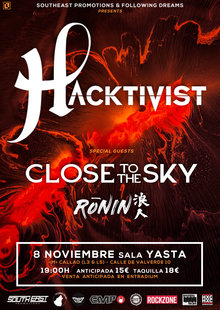 Event hacktivist ver 2  madrid  8 nov 2019