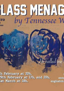 Event glass menagerie poster