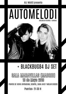AUTOMELODI (Holodeck Records/ Can) + Nico DJ Set_Madrid_Synthwave