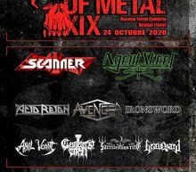 Event grid skulls metal fest 2020