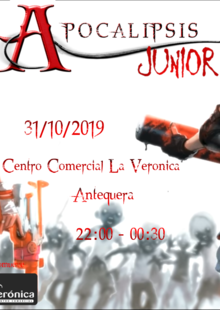 Event cartel junior antequera
