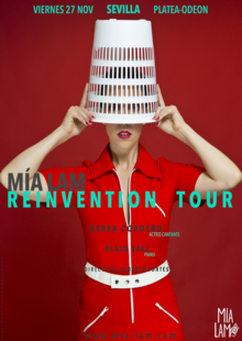 Event cartel mia lam reinvention tour fest