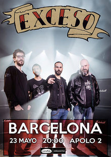 Event cartel barcelona exceso opt