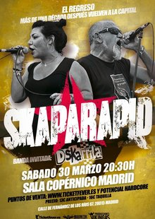 Event skaparapid madrid 2019 sala copernico entradas