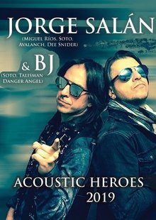 JORGE SALAN & BJ: Acoustic Heroes en The Green Irish Pub - Alcalá De Henares