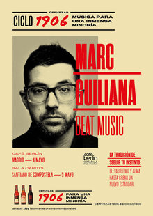 CICLO 1906 PRESENTA: MARK GUILIANA BEAT MUSIC en Café Berlín