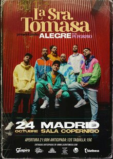 Event la sra. tomasa madrid 24oct