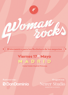 Woman Rocks Madrid
