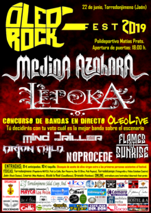 Event cartel oleorock 2019 entradium