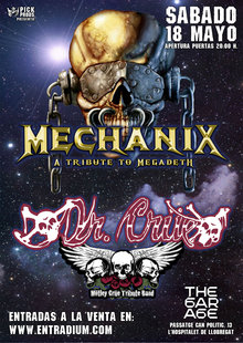 Event cartel mechanix entradium