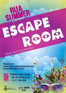 "Escape Room ""Rua Summer Carnaval"""