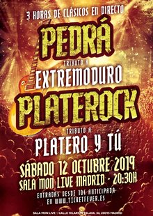 Pedrá (Tributo a Extremoduro) + Platerock (Tributo a Platero) - Madrid