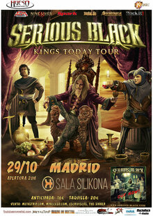 Event serious black mad web