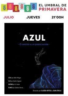 Event cartel azul entradium