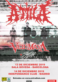 ATTILA Y VEIL OF MAYA (Madrid)