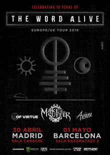 Event the word alive  madrid   barcelona  30.4   1.5 2019