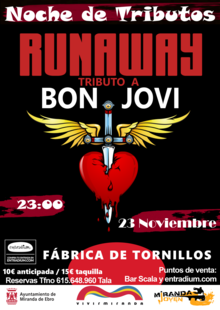 Event nochedetributos runaway 2019 med