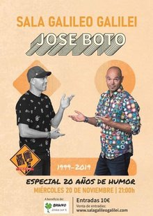 Event entradas jose boto madrid