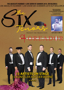 The Six Tenors.  Toreador