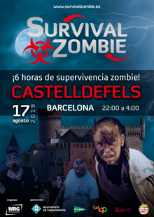 Survival Zombie: CASTELLDEFELS (BARCELONA)