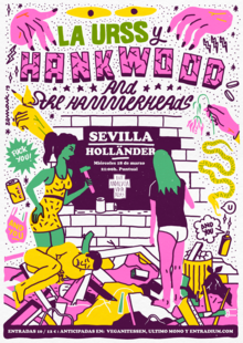 Event hank wood sevilla redes
