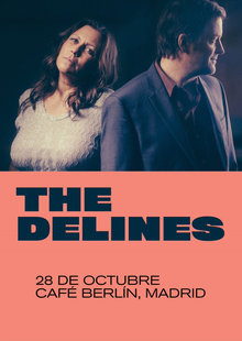 The DELINES (USA) en Madrid - Café Berlin
