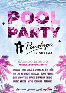 Penélope Remember Pool Party