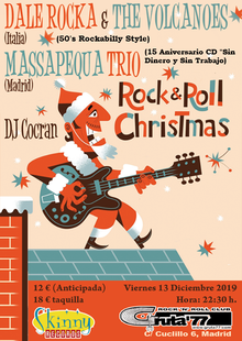 SKINNY CHRISTMAS PARTY  (Dale Rocka & The Volcanoes + Massapequa Trío)