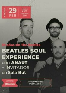Event entradas anaut madrid