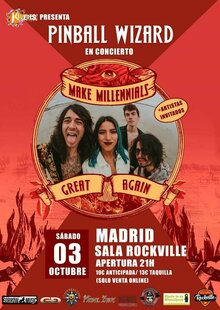 Event pinball wizard en madrid