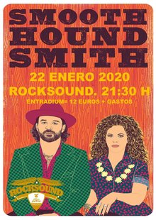 Event poster smooth hound smith
