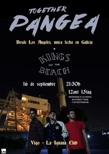 Together Pangea (USA)  + Kings of the beach  La Iguana Club