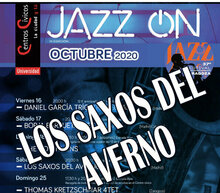 Event grid jazz on 20 saxos