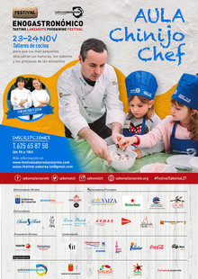 Event cartel chinijo chef 1