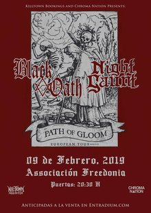 Black Oath · Night Gaunt - Barcelona 2019
