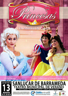 Event princesas poster final 3 con banda