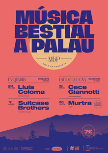 MÚSICA BESTIAL A PALAU amb The Suitcase Brothers
