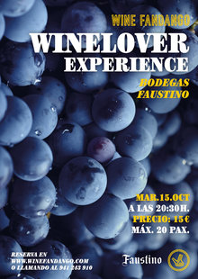 Winelover Experience con Bodegas Faustino 15-10-19