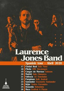 LAURENCE JONES en Madrid - Clamores