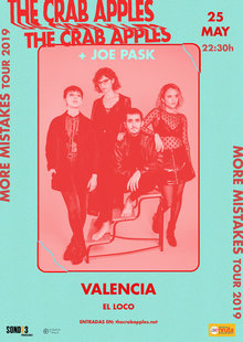 The Crab Apples + Joe Pask en Valencia
