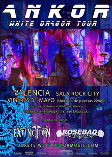 Event white dragon valencia