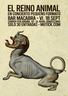 Event cartel macabra new