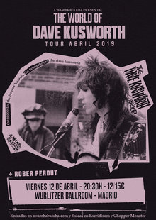 The DAVE KUSWORTH GROUP + Rober Perdut en Madrid - Wurlitzer