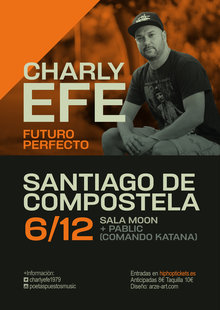 Event cartel charly 2019 santiago