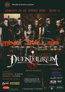 "Mind Driller  ""Involution Tour""  Madrid"