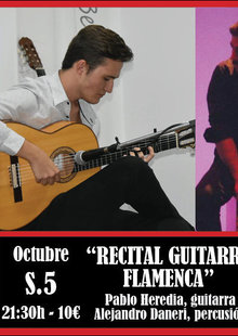 Event 2019 10 05 recital de guitarra flamenca