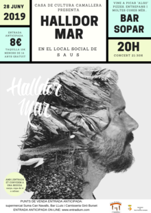 Event concert halldor mar 28 juny