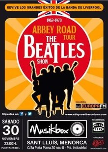 Event beatles menorca